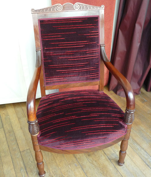 tapisserie d 39 ameublement et d coration paris 75013 tapissier et d corateur. Black Bedroom Furniture Sets. Home Design Ideas